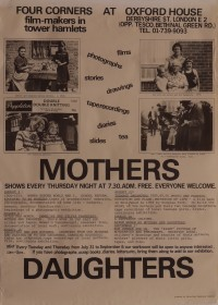 0001171_FourCorners_Poster_Mothers And Daughters Series Of Shows at Oxford House Derbyshire St. London E2.jpg