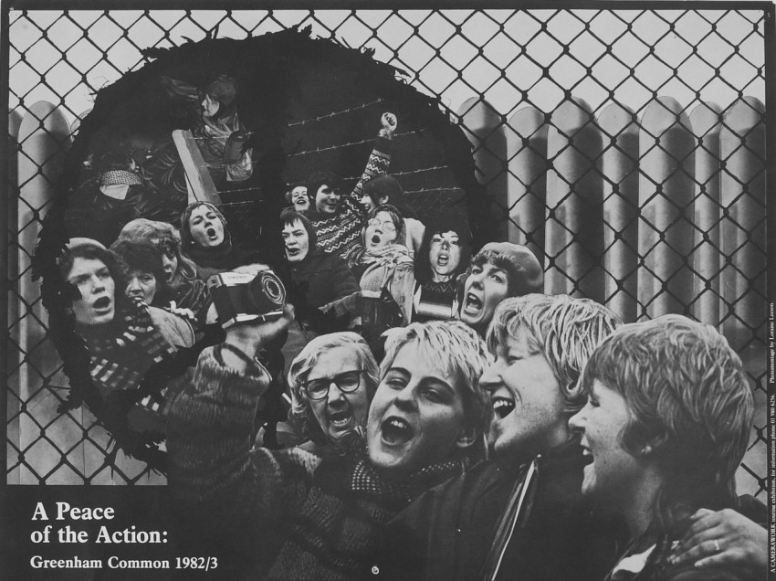 0001163_HalfmoonCamerawork_Poster_A PeaceOf TheAction_Lorraine Leeson_1983
